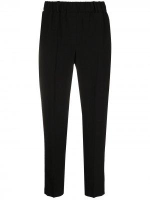Укороченные брюки прямого кроя Incotex. Цвет: черный