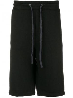 Drawstring track shorts James Perse. Цвет: черный