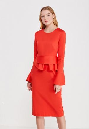 Платье Pepen. Цвет: красный