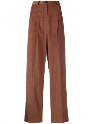 High-waisted trousers I'M Isola Marras. Цвет: коричневый