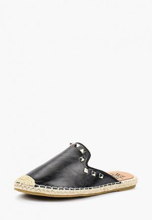 Эспадрильи WS Shoes. Цвет: черный