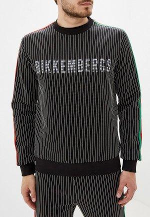 Свитшот Bikkembergs. Цвет: черный