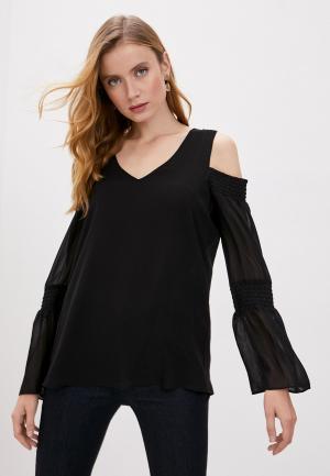 Блуза DKNY. Цвет: черный
