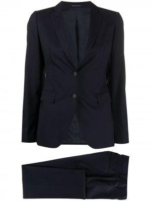 Костюм-двойка с брюками Tagliatore. Цвет: синий