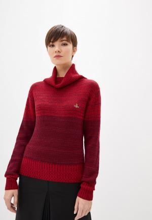 Водолазка Vivienne Westwood. Цвет: бордовый