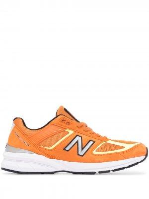 Кроссовки M990OH5 New Balance. Цвет: оранжевый