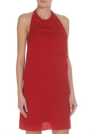 Платье CNC Costume National C'N'C. Цвет: красный