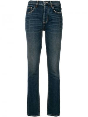 Skinny jeans Current/Elliott. Цвет: синий