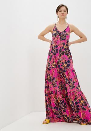 Платье пляжное Maaji. Цвет: розовый