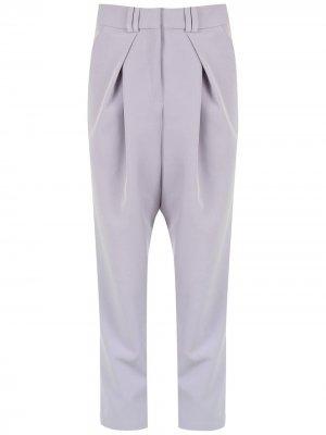Укороченный брюки Clochard Olympiah. Цвет: фиолетовый