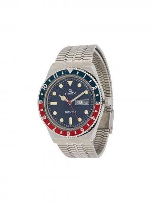 Наручные часы Q Timex Reissue 38 мм. Цвет: серебристый