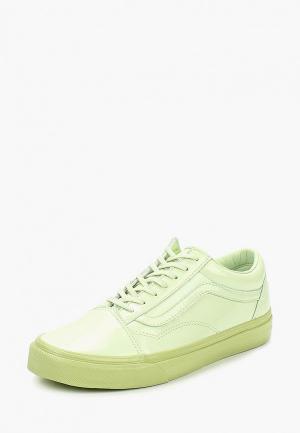 Кеды Vans. Цвет: зеленый