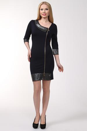 Платье Chapurin. Цвет: темно-синий