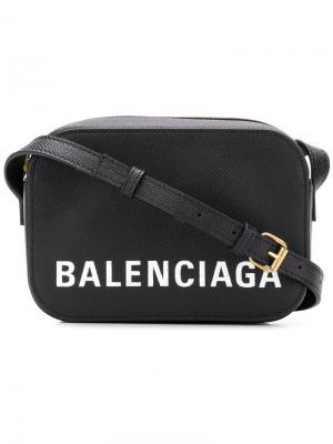 Сумка на плечо Souvenir Balenciaga. Цвет: черный