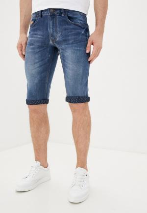 Шорты джинсовые Backlight. Цвет: синий