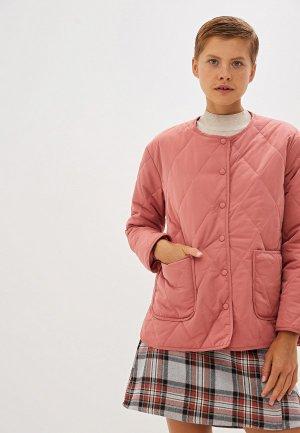 Куртка утепленная Compania Fantastica. Цвет: розовый