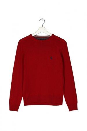 Пуловер MARINA YACHTING. Цвет: красный
