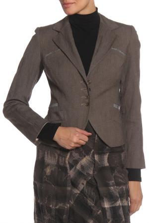 Пиджак MODART. Цвет: коричневый