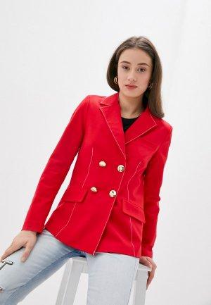 Пиджак Silvian Heach. Цвет: красный