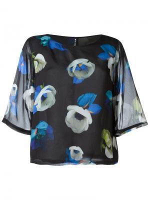 Блузка Suffix Minimarket. Цвет: черный