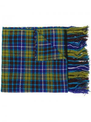Tartan plaid scarf Altea. Цвет: зеленый