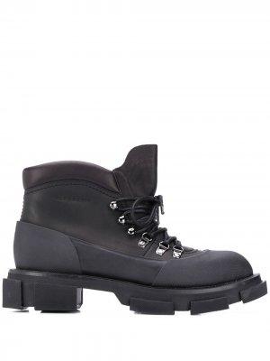 Ботинки на плоской подошве Clergerie. Цвет: черный