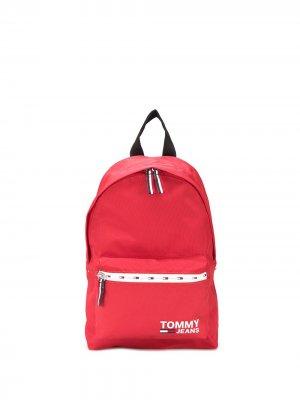 Рюкзак с логотипом Tommy Jeans. Цвет: красный