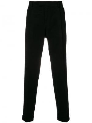 Широкие брюки Tiger Of Sweden. Цвет: черный