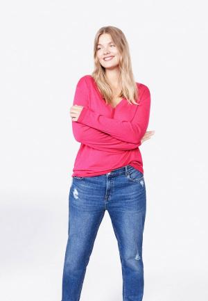 Пуловер Violeta by Mango. Цвет: розовый