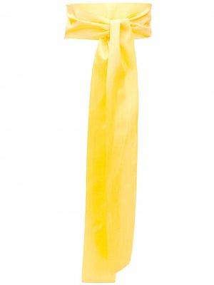 Пояс на завязке Sara Roka. Цвет: желтый