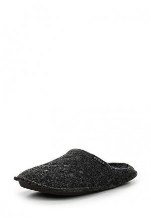 Тапочки Crocs. Цвет: черный