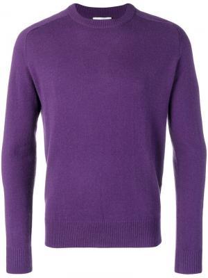 Cashmere sweater Paul & Joe. Цвет: фиолетовый