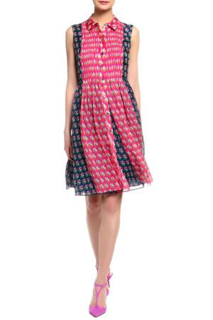 Платье Diane von Furstenberg. Цвет: мультицвет