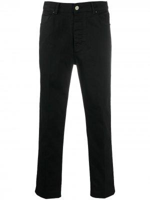 Зауженные джинсы Haikure. Цвет: черный