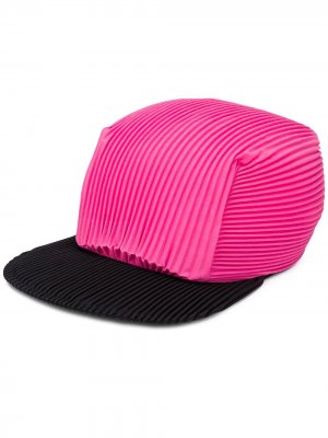 Плиссированная кепка Homme Plissé Issey Miyake. Цвет: розовый