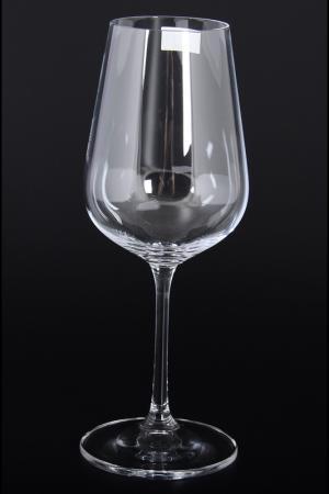 БОКАЛЫ ДЛЯ ВИНА 360 МЛ 6 ШТ. Crystalite Bohemia. Цвет: прозрачный