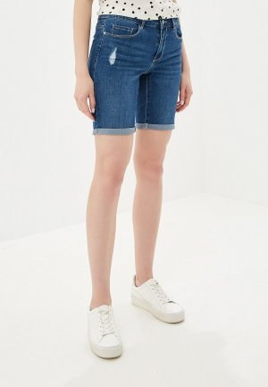 Шорты джинсовые Vero Moda. Цвет: синий