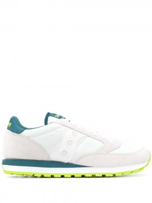 Кроссовки со вставками Saucony. Цвет: белый