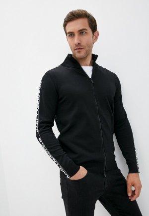 Кардиган Karl Lagerfeld. Цвет: черный