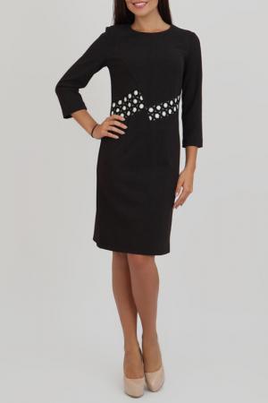 Платье Chateau Fleur. Цвет: черный