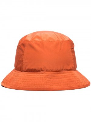 Панама с вышитым логотипом C.P. Company. Цвет: оранжевый
