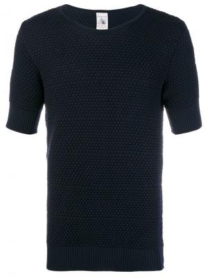 Meta textured T-shirt S.N.S. Herning. Цвет: синий