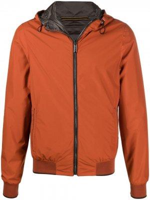 Легкая двусторонняя куртка Moorer. Цвет: оранжевый