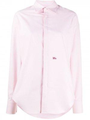 Рубашка Easy Dean Dsquared2. Цвет: розовый