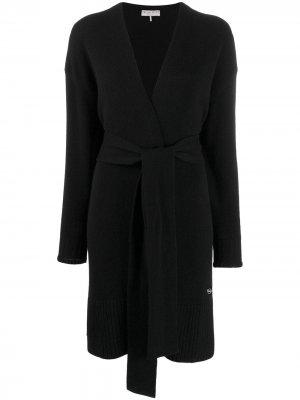 Mid-length belted cardigan Emilio Pucci. Цвет: черный