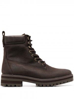 Ботинки по щиколотку Timberland. Цвет: коричневый