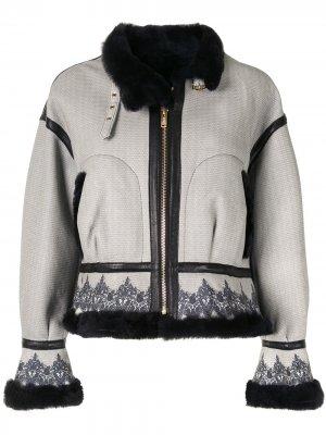 Куртка с принтом Baroque UNDERCOVER. Цвет: серый