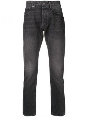 Зауженные джинсы Studio Levi's: Made & Crafted. Цвет: серый