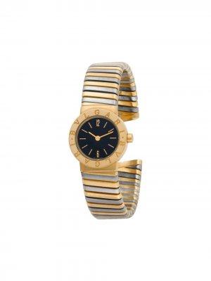 Наручные часы Tubogas 23 мм 2000-го года BVLGARI. Цвет: черный