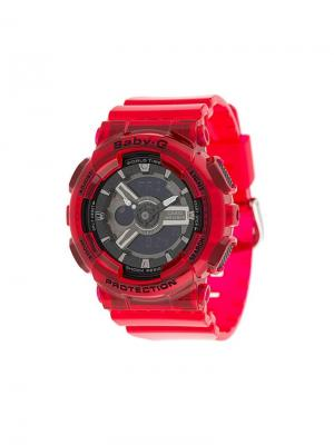 Baby-G watch G-Shock. Цвет: красный